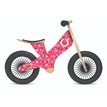 Kinderfeets Copy of Kinderfeets - Vélo d'Équilibre Tiny Tot 2-en-1, Bambou