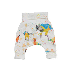 Little Yogi Little Yogi - Grow With Me Pants, Parrots