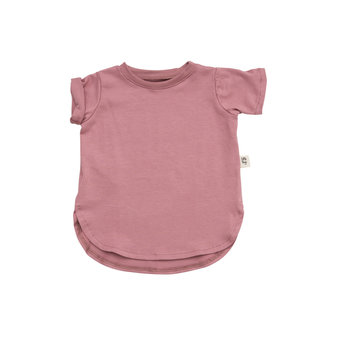 Little Yogi Little Yogi - T-Shirt, Dusty Rose