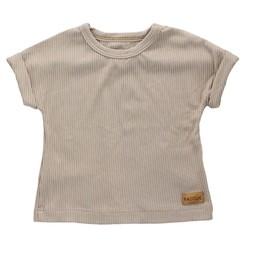 Bajoue Bajoue - T-shirt en Coton, Moka