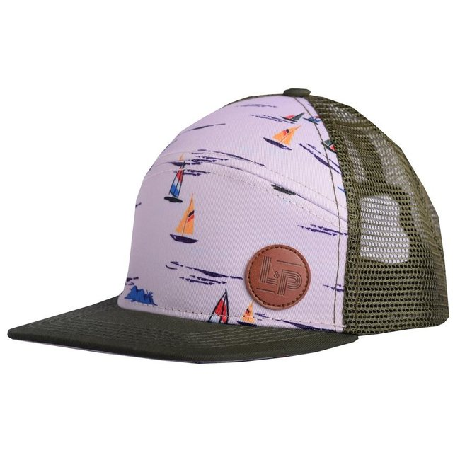 L&P L&P - Boat Cap, Grey Green