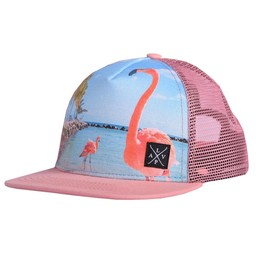 L&P L&P - Casquette Flamant, Rose Quartz