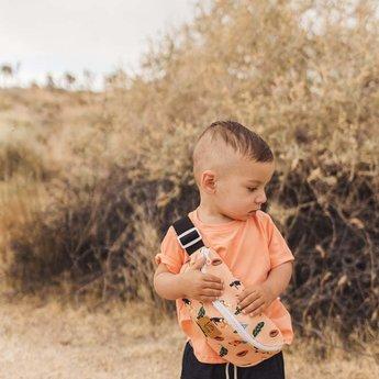 Little Yogi Little Yogi - T-Shirt, Cantaloup