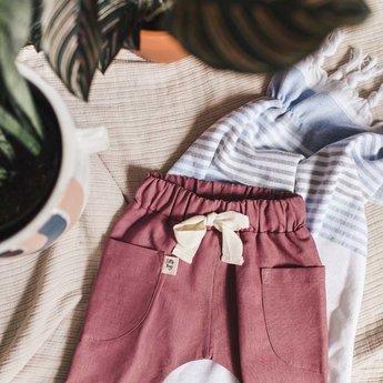 Little Yogi Little Yogi - Desert Pants, Dusty Rose