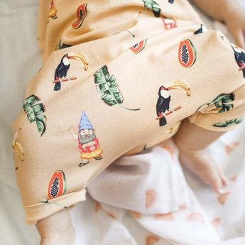 Little Yogi Little Yogi - Combinaison en Bambou Biologique, Toucana