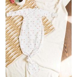 Little Yogi Little Yogi - Organic Bamboo Kimono Gown, Sunrise 0-3 months