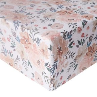 Copper Pearl Copper Pearl - Premium Knit Fitted Crib Sheet, Autumn