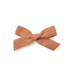 Wunderkin Wunderkin - Medium Schoolgirl Bow Clip, Dawn