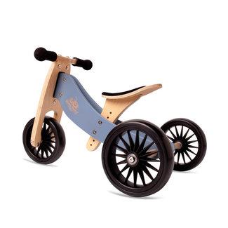 Kinderfeets Kinderfeets - Tiny Tot PLUS Balance Bike 2-in-1, Slate Bleu