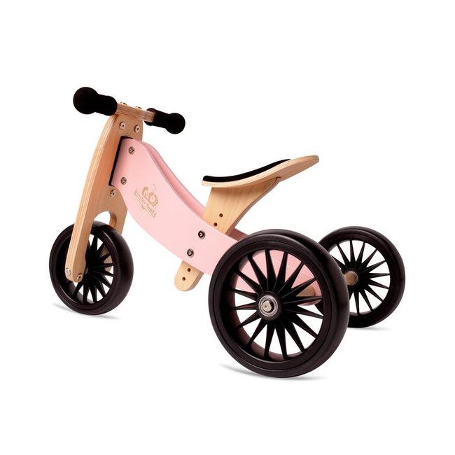 Kinderfeets Kinderfeets - Tiny Tot PLUS Balance Bike 2-in-1, Pink
