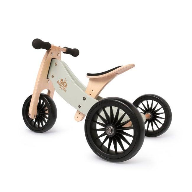 Kinderfeets Kinderfeets - Vélo d'Équilibre Tiny Tot PLUS 2-en-1, Sauge Argent
