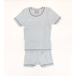 Coccoli Coccoli - 2 Piece Short Pyjama, Surf