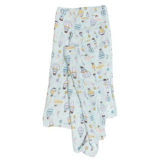 Loulou Lollipop Loulou Lollipop - Bamboo Swaddle, Up Up Away