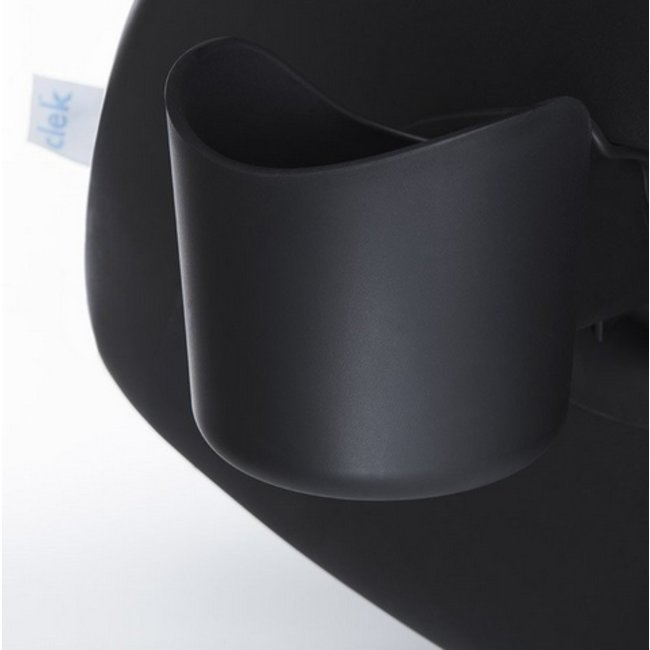 Clek Clek - Drink-Thingy Cup Holder for Foonf-Fllo Carseat, Black