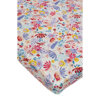 Loulou Lollipop Loulou Lollipop - Bamboo Fitted Crib Sheet, Field Flowers