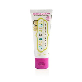 Jack&Jill Jack & Jill - Natural Toothpaste Berries and Cream Flavor