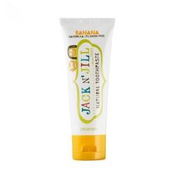 Jack&Jill Jack & Jill - Pâte à Dents Naturelle aux Bananes Biologiques/Natural Toothpaste Organic Banana