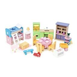 Le Toy Van Le Toy Van - Ensemble de Meubles pour Maison de Poupées