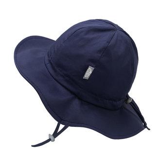 Jan & Jul Jan & Jul - Grow With Me Cotton Sun Hat, Navy