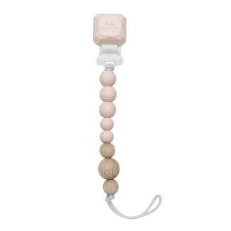 Loulou Lollipop Loulou Lollipop - Colour Pop Pacifier Clip, Pink Quartz