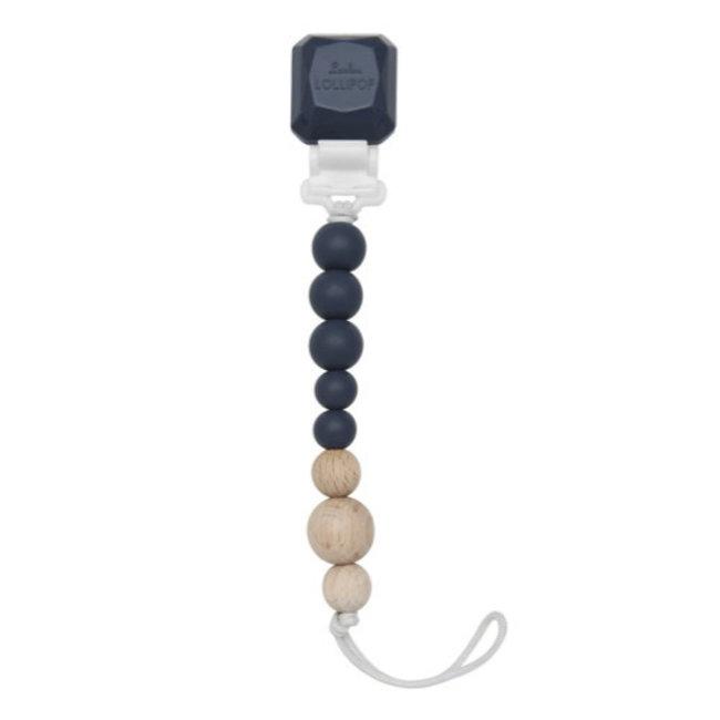 Loulou Lollipop Loulou Lollipop - Colour Pop Pacifier Clip, Vintage Indigo