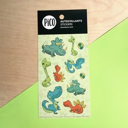 Pico Tatouages Temporaires Pico Tatoo - Stickers, Dinos