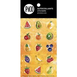 Pico Tatouages Temporaires Pico Tatoo - Autocollants, Fruits en Folie