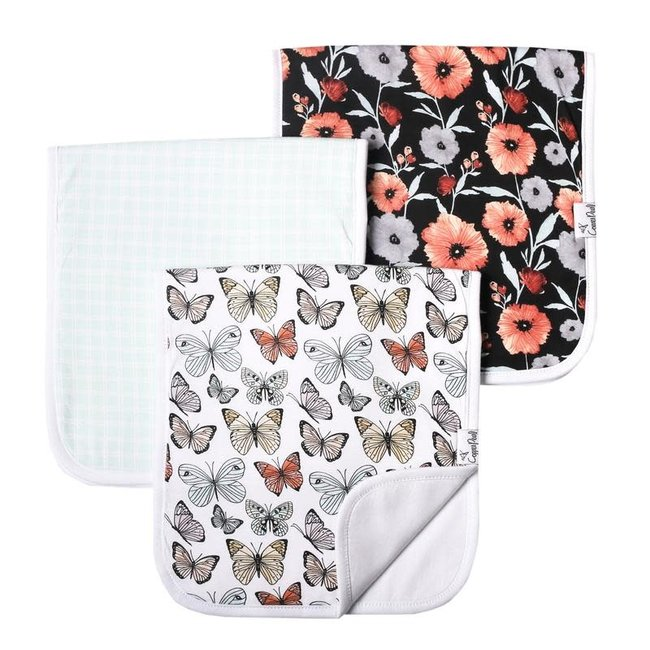 Copper Pearl Copper Pearl - Pack of 3 Burp Cloths, Dot
