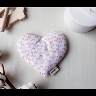 Amma Thérapie Amma Thérapie - Coussin Réconfort Coeur pour Bébé, Ça Va Bien Aller