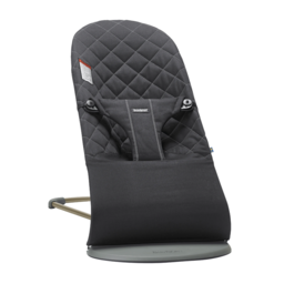 BabyBjörn BabyBjörn - Transat Bouncer Bliss en Coton/Coton Bouncer Bliss, Noir/Black