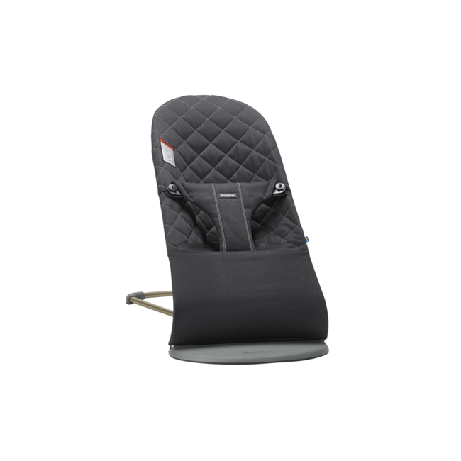 BabyBjörn BabyBjörn - Coton Bouncer Bliss, Black
