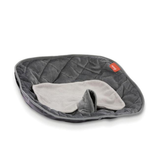 Diono Diono - Protecteur de Siège et Poussette Ultra Dry Deluxe, Gris