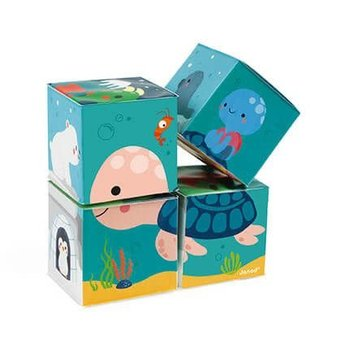 Janod Janod - 4 Bath Cubes