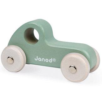Janod Janod - Wooden Race Car, Green