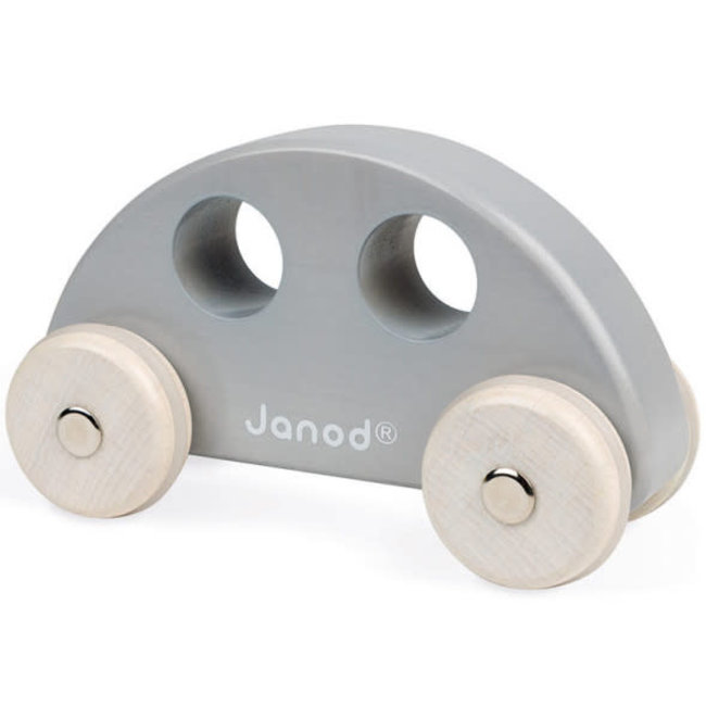 Janod Janod - Wooden Car, Grey