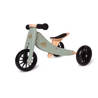 Kinderfeets Kinderfeets - Vélo d'Équilibre Tiny Tot 2-en-1, Sauge