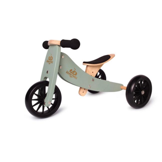 Kinderfeets Kinderfeets - Tiny Tot Balance Bike 2-in-1, Sage
