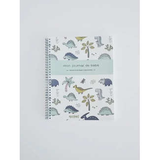 Moments ancrés Moments Ancrés - Baby Album, Mon Journal de Bébé, Dinosaurs
