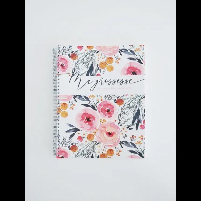 Moments ancrés Moments Ancrés - Pregnancy Journal, Spring Flowers