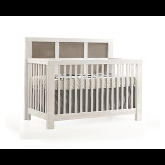 Natart Juvenile Natart Rustico Moderno - Lit de Bébé Convertible 5-en-1