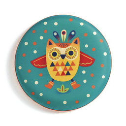 Djeco Djeco - Flying Disc, Owl