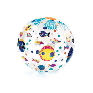 Djeco Djeco - 35 cm Ball, Fishes