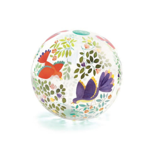 Djeco Djeco - 35 cm Ball, Birds