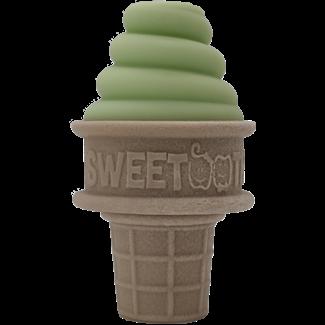 Sweetooth SweeTooth - Ice Cream Baby Teether, Green