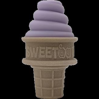 Sweetooth SweeTooth - Ice Cream Baby Teether, Lilac