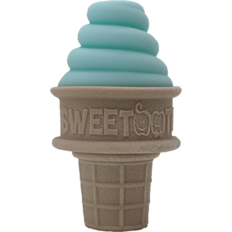 Sweetooth SweeTooth - Ice Cream Baby Teether, Mint