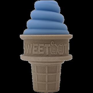 Sweetooth SweeTooth - Ice Cream Baby Teether, Blue