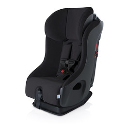 Clek Clek FLLO - Super Crypton Suede Fabric Car Seat, Black