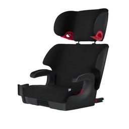 Clek Clek OOBR - Fullback Booster Seat Crypton C-Zero + Premium Fabric, Pitch Black