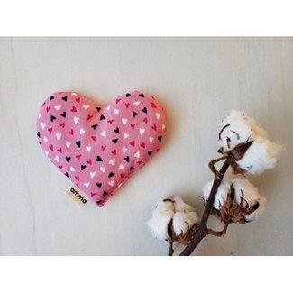 Amma Thérapie Amma Thérapie - Coussin Réconfort Coeur pour Bébé, Ma Chérie